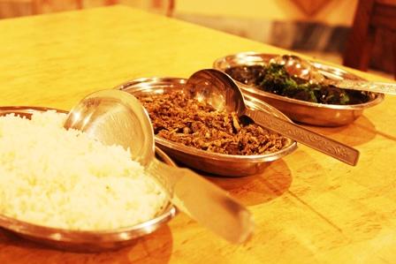 伝統的なメガラヤ料理