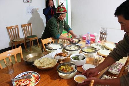 ユクサムの夕食