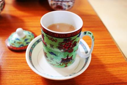 ユクサムバター茶