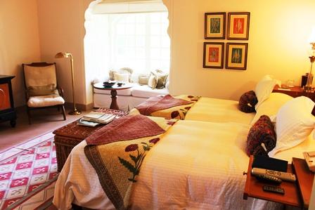 ザ・オベロイ・ラージヴィラスの客室