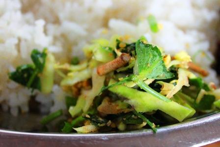マニプール山菜のサラダ
