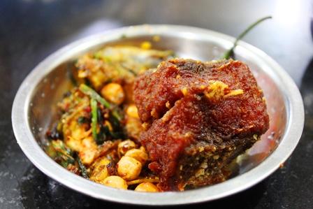 ラクシュミー・キッチンの揚げ魚