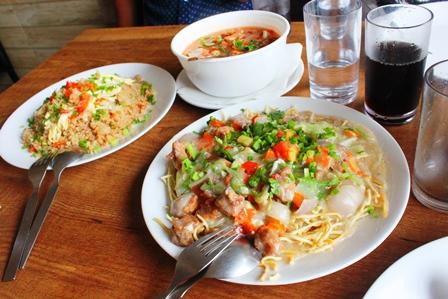 シロンの中華料理