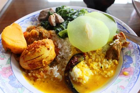 メガラヤの家庭料理
