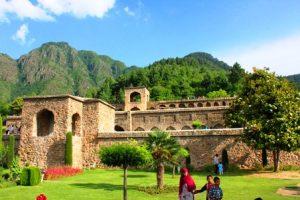 カシミール・スリナガルの古い城塞