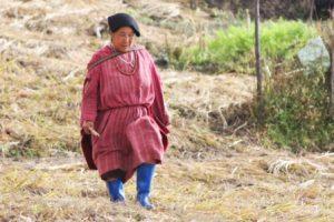 モンパ族の民族衣装