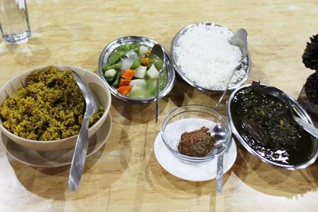 メガラヤの伝統料理